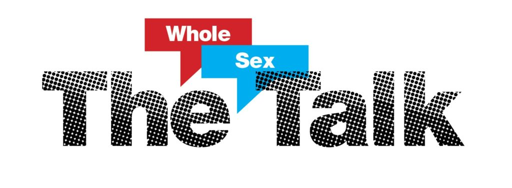 The Sex Talk Logo with mask